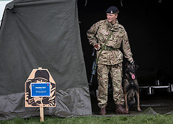26/03/2014.  The British Army revealed it's new specialist, combat and command skills formation today. This new part of the Army will be made up of 36000 Regular and Reserve soldiers, which is a third of the army as a whole and supports the logistics of operations both in the UK and abroad.  The command will officially launch on the 1 Apr 14.  Alison Baskerville/LNP