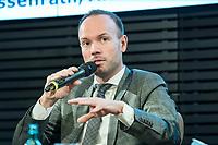 31 JAN 2019, BERLIN/GERMANY:<br /> Nikolas Loebel, MdB, CDU, Außenpolitischer Jahresausblick 2019, AK Junge AUßenpolitiker der Konrad-Adenauer-Stiftung, KAS, Akademie der KAS<br /> IMAGE: 20190131-02-073<br /> KEYWORDS: Nikolas Löbel