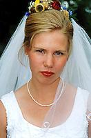 Portrett av en brud, portrait of a bride
