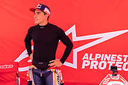 Marc Marquez and Jett Lawrence at the Circuit of the Americas track in Austin, TX Wednesday September 29, 2021.