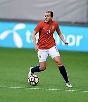Fotball , 15. September 2017 ,  VM-kvalifisering kvinner<br /> Norge - Nord-Irland <br /> Womens world cup Qual.<br /> Norway - Northern Ireland<br /> Kristine Minde , Norge