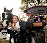 FREE PHOTO: 25-3-2015: Tuesday, 24th March 2015:   Former dragon Norah Casey, Chef Paul Treyvaud and promoter Shane O'Driscoll pictured near the 'half moon' field in the Killarney House Demesne for the launch of the Killarney Festival of Music & Food which will take place over the weekend of June 27-28.<br /> Photo by Don MacMonagle<br /> <br /> repro free Killarney Festival of Musice & Food<br /> More info: Nicola@nicolawatkinspr.com<br /> <br /> Press release:, <br /> It was announced today that eight of Ireland's finest Michelin Star and celebrity chefs will be cooking up a storm in the Food & Wine Magazine Village hosted by Norah Casey, at the inaugural boutique festival at Killarney House Demesne on 27 & 28 June.<br /> Derry Clarke (L'Ecrivain, Dublin), Ross Lewis (Chapter One, Dublin) and JP McMahon (EatGalway Restaurant Group, which comprises Aniar, Cava Boedga, and Eat Gastropub), will join Clodagh McKenna (Clodagh's Kitchen, Dublin), Sunil Ghai  (Ananda Restaurant), Noel Enright (The Lake Hotel, Killarney); Paul Treyvaud (Treyvauds, Killarney); Catherine Fulvio (Ballyknocken House) in the Chef's Kitchen where they will show food lovers how to prepare delicious mouth-watering dishes using locally produced, seasonal ingredients from Kerry .<br /> The Killarney Festival Food Village will be an extensive showcase of wine and food not only for the region of Kerry but for Ireland as a whole.   It will feature well established restaurants from around Ireland, local artisan food producers including Ring of Kerry Lamb, Ballinskelligs Duck, Hulberts Fine Food, Lizzy's Little Kitchen, O'Brien's Farmhouse Cheese, Sasta Sausages, Killarney Toffee,  Valentia Island Dairy and Ballyhar Farm Produce including organic Kerry Rose Veal & Cow's Milk.<br /> The Food & Wine Village will also feature a Wine Bar, Craft Beer Lounge and Cocktail Bar.  A variety of food vendors offering cuisine from around the world will also be on site to cater for up to 20,000 festival goers over th