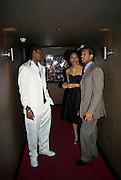 ANDRE OPORIA, NADIA GARDINER AND BRADLEY CHARLES, INTO THE HOODS - a hip hop dance musical -opening  at the Novello Theatre on The Aldwych. After- party at TAMARAI at 167 Drury Lane, London. 27 March 2008.   *** Local Caption *** -DO NOT ARCHIVE-© Copyright Photograph by Dafydd Jones. 248 Clapham Rd. London SW9 0PZ. Tel 0207 820 0771. www.dafjones.com.