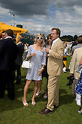 MARCHIONESS OF MILFORD HAVEN; HUGO BURNAND, 2008 Veuve Clicquot Gold Cup Polo final at Cowdray Park. Midhurst. 20 July 2008 *** Local Caption *** -DO NOT ARCHIVE-© Copyright Photograph by Dafydd Jones. 248 Clapham Rd. London SW9 0PZ. Tel 0207 820 0771. www.dafjones.com.