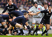 Twickenham. GREAT BRITAIN, Kevin BRENNAN.clearing the ball from the ruck, during the 2006 Varsity Rugby Match at Twickenham Stadium, England 12.12.2006. [Photo, Peter Spurrier/Intersport-images] Sponsor, Lehman Brothers,