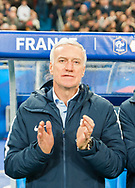 Didier Deschamps (fra) during the International Friendly Game football match between France and Colombia on march 23, 2018 at Stade de France in Saint-Denis, France - Photo Pierre Charlier / ProSportsImages / DPPI