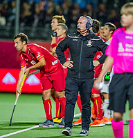ANTWERP - BELFIUS EUROHOCKEY Championship  . Belgium v Spain (men) (5-0). coach Shane McLeod (Belgie). WSP/ KOEN SUYK