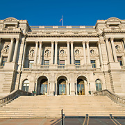 Library of Congress on Capitol Hill, Washington DC.