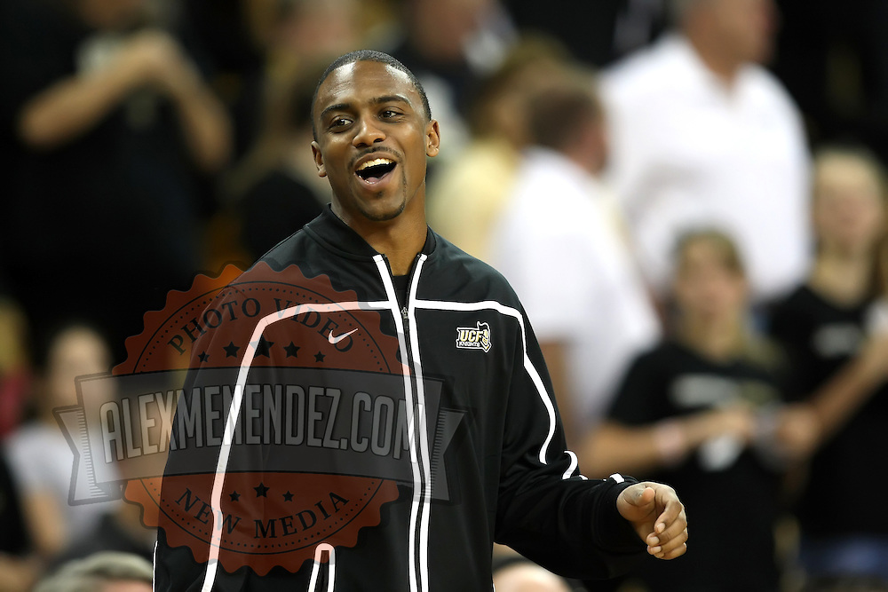 Knight player Jeff Jordan during a Conference USA NCAA basketball game between the Marshall Thundering Herd and the Central Florida Knights at the UCF Arena on January 5, 2011 in Orlando, Florida. Central Florida won the game 65-58 and extended their record to 14-0.  (AP Photo/Alex Menendez)
