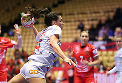 HERNING, DENMARK - DECEMBER 3, 2020: Carmen Martin during the EHF Euro 2020 Group C match between Russia and Spain in Jyske Bank Boxen, Herning, Denmark on December 3 2020. Photo Credit: Allan Jensen/EVENTMEDIA.