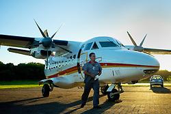 A NHT Linhas Aéreas é uma companhia aérea brasileira com sede na cidade de Porto Alegre, no Rio Grande do Sul. A companhia possui seis aeronaves Let 410 UVP E-20, turbo-hélice, com capacidade para 19 passageiros e dois tripulantes, que operam em 16 cidades dos 3 estados da Região Sul do Brasil, provendo transporte de passageiros e de cargas, com planos de expansão. FOTO: Jefferson Bernardes/Preview.com