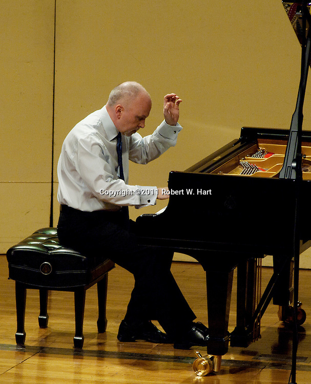 Competitor Brad Arington at Ed Landreth Hall on the TCU Campus on May 24, 2011...Special Contributor/Robert W. Hart