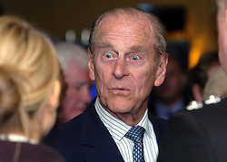 File photo dated 22/11/05 of The Duke of Edinburgh talking to members of the emergency services during a visit to the Balsall Heath area of Birmingham. The Duke of Edinburgh has died, Buckingham Palace has announced. Issue date: Friday April 9, 2020.. See PA story DEATH Philip. Photo credit should read: David Jones/PA Wire