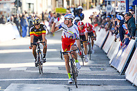 Kristoff Alexander - Katusha - 31.03.2015 - Trois jours de La Panne - Etape 01 - De Panne / Zottegem <br /> Photo : Sirotti / Icon Sport<br /> <br />   *** Local Caption ***