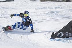 Felicetti Mirko during the FIS snowboarding world cup race in Rogla (SI / SLO) | GS on January 20, 2018, in Jasna Ski slope, Rogla, Slovenia. Photo by Urban Meglic / Sportida