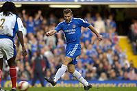 Photo: Daniel Hambury.<br />Chelsea v Portsmouth. The Barclays Premiership. 21/10/2006.<br />Chelsea's Andriy Shevchenko score shis first Premiership goal.