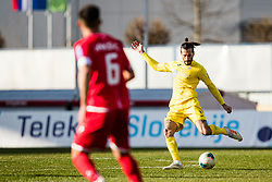 Nikola Vuyadinovich of NK Domzale during the football match between NK Domzale and NK Aluminij in 25. Round of Prva liga Telekom Slovenije 2019/20, on March 7, 2020 in Sportni park Domzale, Slovenia. Photo by Grega Valancic / Sportida