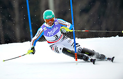17.02.2013, Planai, Schladming, AUT, FIS Weltmeisterschaften Ski Alpin, Slalom, Herren, 1. Durchgang, im Bild Felix Neureuther (GER) // Felix Neureuther of Germany in action during 1st run of the mensSlalom at the FIS Ski World Championships 2013 at the Planai Course, Schladming, Austria on 2013/02/17. EXPA Pictures © 2012, PhotoCredit: EXPA/ sportbild. se/ Nisse Schmidt ***** ATTENTION - OUT OF SWE *****