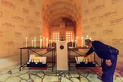 08.06.2016, Verdun, FRA, auf dem Schlachtfeld des Ersten Weltkriegs, Verdun, im Bild Innenansicht des Beinhauses Douaumont // Inside view of the ossuary of Douaumont in Verdun, France on 2016/06/08. EXPA Pictures © 2016, PhotoCredit: EXPA/ JFK