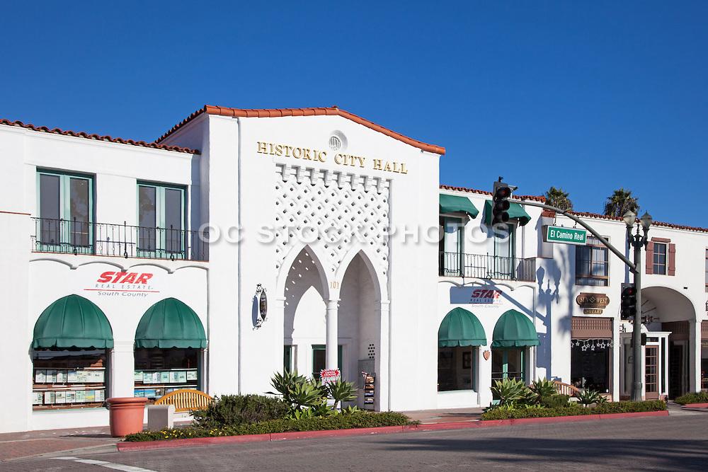 San Clemente Historic City Hall Building