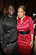 """l to r: Akon and Margeaux Watson at """" The Ultimate Prom"""" presented by Universal Motown and Mypromstyle.com held at Pier 60 at Chelsea Piers in New York City."""