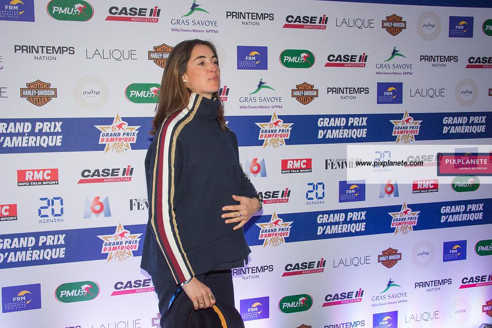 Margot Laffite Grand Prix d'Amérique 100ans Dimanche 26 Janvier 2020 Hippodrome Paris Vincennes