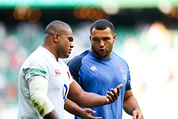 Kyle Sinckler and ,Ellis Genge after England win 57-15 - Rogan/JMP - 24/08/2019 - RUGBY UNION - Twickenham Stadium - London, England - England v Ireland - Quilter Series.