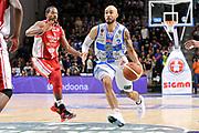 DESCRIZIONE : Campionato 2014/15 Serie A Beko Dinamo Banco di Sardegna Sassari - Giorgio Tesi Group Pistoia<br /> GIOCATORE : David Logan<br /> CATEGORIA : Palleggio Penetrazione<br /> SQUADRA : Dinamo Banco di Sardegna Sassari<br /> EVENTO : LegaBasket Serie A Beko 2014/2015 <br /> GARA : Dinamo Banco di Sardegna Sassari - Giorgio Tesi Group Pistoia<br /> DATA : 01/02/2015 <br /> SPORT : Pallacanestro <br /> AUTORE : Agenzia Ciamillo-Castoria/C.Atzori <br /> Galleria : LegaBasket Serie A Beko 2014/2015