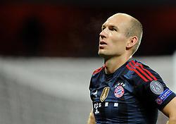 Bayern Munich's Arjen Robben - Photo mandatory by-line: Joe Meredith/JMP - Tel: Mobile: 07966 386802 19/02/2014 - SPORT - FOOTBALL - London - Emirates Stadium - Arsenal v Bayern Munich - Champions League - Last 16 - First Leg