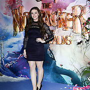 Amber Doig-Thorne attend The Nutcracker and the Four Realms - UK premiere at Vue Westfield, Westfield Shopping Centre, Ariel Way on 1st Nov 2018, London, UK.
