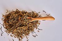 Chine, Province du Yunnan, thé vert // China, Yunnan province, green tea
