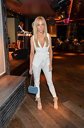 NICOLA HUGHES at the Fashion Targets Breast Cancer 20th Anniversary Party held at 100 Wardour Street, Soho, London on 12th April 2016.