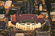 9/26/09 Lincoln, NE.Aerial photo of Memorial Stadium during the 300th consecutive sell-out game..(Chris Machian/Omaha World-Herald)