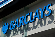 Sign for Barclays Bank.