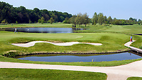 AMSTERDAM - Amsterdamse Golf Club , hole 18. COPYRIGHT KOEN SUYK