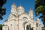 The Orthodox Cathedral (Nativity of Christ Cathedral) in Riga, Latvia © Rudolf Abraham