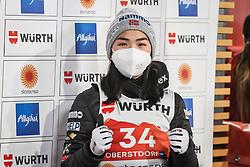 02.03.2021, Oberstdorf, GER, FIS Weltmeisterschaften Ski Nordisch, Oberstdorf 2021, Damen, Skisprung, HS137, Einzelbewerb, Qualifikation, im Bild Thea Minyan Bjoerseth (NOR) // Thea Minyan Bjoerseth (NOR) during the qualification jump for the women ski Jumping HS137 single competition of FIS Nordic Ski World Championships 2021 Oberstdorf, Germany on 2021/03/02. EXPA Pictures © 2021, PhotoCredit: EXPA/ Tadeusz Mieczynski