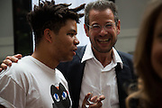 OSCAR MURILLO; KENNY SCHACTER, The ICA Fundraising Gala / Intercourse 3<br /> Third annual auction and party to raise money for the ICA New Commissions Fund. Institute of Contemporary Arts, The Mall, London, SW1. 19 June 2013.