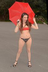 Alicia Arden poses in very revealing bikini on rainy day - 04 Feb 2019
