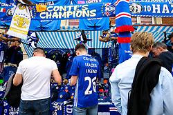 A Chelsea fan wears a tribute shirt to John Terry ahead of his final Chelsea game before retirement - Rogan Thomson/JMP - 21/05/2017 - FOOTBALL - Stamford Bridge - London, England - Chelsea v Sunderland - Premier League..