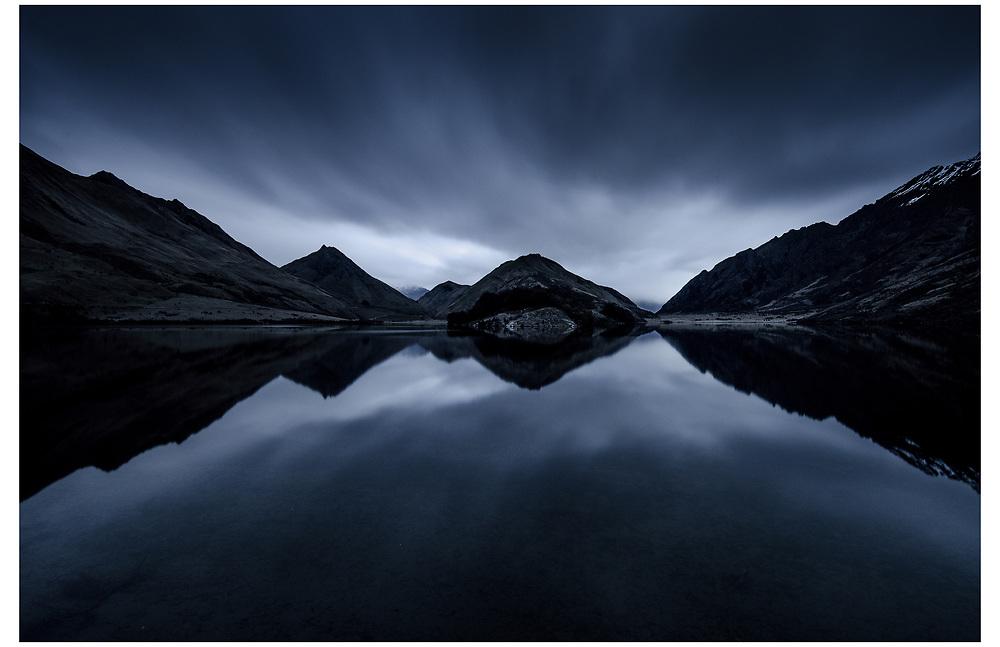 Moke Lake, Queenstown, Otago.