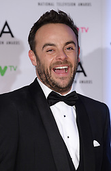 Anthony McPartlin in the press room after the National Television Awards 2018 held at the O2, London. Photo credit should read: Doug Peters/EMPICS Entertainment