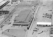 """Ackroyd 00071-113. """"Sandberg Manufacturing Co. Aerial. July 9, 1947"""" (Sandberg Manufacturing Co. 3850 NW Yeon ORBC Oregon Beverage Recycling Cooperative Convoy Co. 3900 NW Yeon DEQ site ID 4015)"""