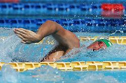 June 23, 2017 - Rome, Italy - Jordan Sloan (IRL) competes in Men's 400 m Freestyle during the international swimming competition Trofeo Settecolli at Piscine del Foro Italico in Rome, Italy on June 23, 2017..Photo Matteo Ciambelli / NurPhoto  (Credit Image: © Matteo Ciambelli/NurPhoto via ZUMA Press)