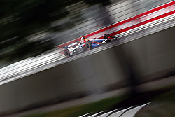 July 13, 2018 - Toronto, Ontario, Canada - MATHEUS LEIST (4) of Brazil takes to the track to practice for the Honda Indy Toronto at Streets of Exhibition Place in Toronto, Ontario. (Credit Image: © Justin R. Noe Asp Inc/ASP via ZUMA Wire)