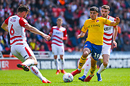 Albie Morgan of Charlton Athletic (19) in action during the EFL Sky Bet League 1 play off first leg match between Doncaster Rovers and Charlton Athletic at the Keepmoat Stadium, Doncaster, England on 12 May 2019.