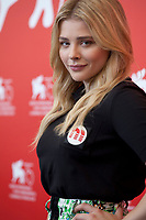 Chloe Grace Moretz at the photocall for the film Suspiria at the 75th Venice Film Festival, on Saturday 1st September 2018, Venice Lido, Italy.