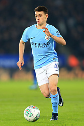 19th December 2017 - Carabao Cup (Quarter Final) - Leicester City v Manchester City - Phil Foden of Man City - Photo: Simon Stacpoole / Offside.