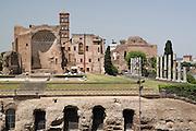 Italy, Rome, Temple of Venus