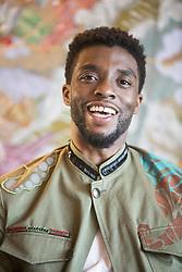 January 30, 2018 - Hollywood, CA, USA - Chadwick Boseman stars in the movie Black Panther (Disney)Marvel (Credit Image: © Armando Gallo via ZUMA Studio)